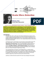 Scalar Wave Detection