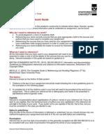 Harvard Quick Guide Tcm44-47797