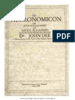 Necronomicon - John Dee