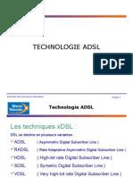Généralités ADSL