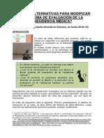 La Evaluación en La Residencia Medica en Bolivia