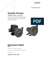 Bombas Goulds Pump