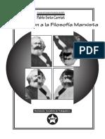 Introducción a la filosofiía marxista