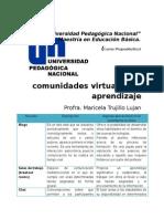 Las Comunidades Virtuales de Aprendizaje