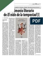 Testimonio Literario de Yuri Vásquez