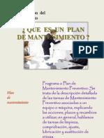 Plan de Mtto