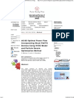 AC-DC Optimal Power Flow Incorporating Shunt FACTS Devises Using HVDC Model and Particle Swarm Optimization Method _ Mezhoud _ International Review of Electrical Engineering (IREE)