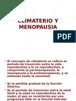 14.- Climaterio y Menopausia