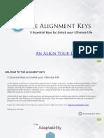 The Alignment Keys