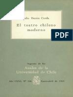 El Teatro Chileno Moderno