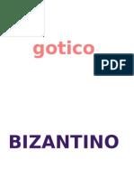 gotico bizantino en