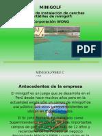 Minigolf en Peru