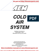 AEM Installation Instructions 21-450