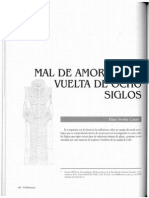 Artículo Mal de Amores a La Vuelta de Ocho Siglos_Elías Sevilla Casas