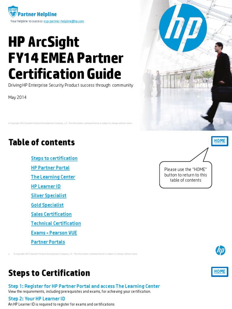 Fy14 h2 hp arcsight emea partner certification guide hewlett fy14 h2 hp arcsight emea partner certification guide hewlett packard test assessment baditri Gallery