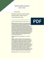 Carmen Diana Deere, Diferenças Regionais Na Reforma Agrária Brasileira