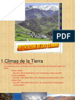 PRESENTACION DE CLIMAS