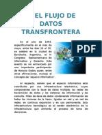 El Flujo de Datos Transfrontera