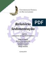 LADEQ_RELATÓRIO_SEDIMENTAÇÃO