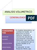 Analisis Volumetrico 2012 II