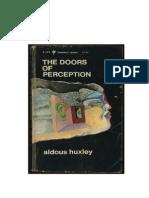 Las Puertas de La Percepcion (Ensayo)