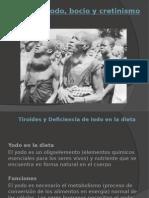SEM. Tiroides y Deficiencia de Yodo