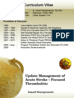 Update Management of Acute Stroke