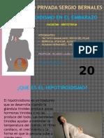 HIPOTIROIDISMO EN EL EMBARAZO.pptx
