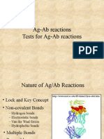 Ag-Ab Reactions 2001