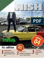 Vanish Magazine 4 Cover