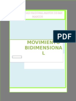 Movimiento Bidimensional