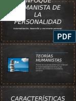 Enfoque Humanista de La Personalidad