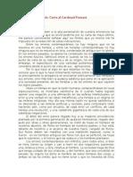 Juan Donoso Cortés Carta Al Cardenal Fornari