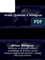 Vestibular 1 - Armas Químicas e Biológicas