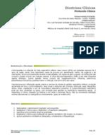 Bronquiolite - Protocolo de Tratamento 2012