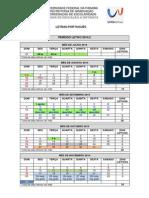 Calendário Letras 2014.2
