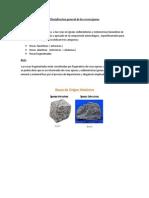 Clasisficacion General de La Rocas Ígneas