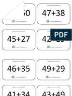 Addition Facts to 50 Plus 50 Selection