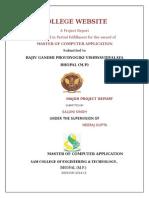 Saloni Project Report