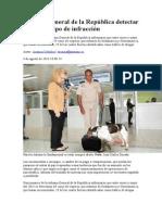 Aduana General de La República Detectar Cualquier Tipo de Infracción
