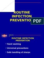 Routine Infection Prevention
