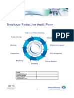 Breakage Reduction Audit