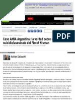 Actualidad Rt Com Opinion Salbuchi 164768 Caso Amia Argentina Suicidio Asesinato Fiscal Nisman