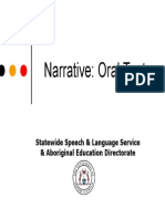 Narrative Oral Texts