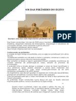 Os Segredos Das Piramides Do Egito