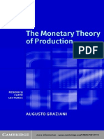Graziani, A., (2003), The Monetary Theory of Production