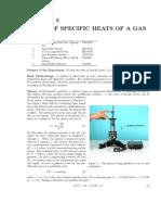Ratio of Specific Heats 2