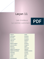 Leçon 11