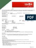 Lion Air ETicket (YSWPRO) - Fadhlurrohman