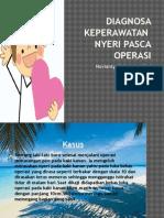 Diagnosa Keperawatan Nyeri Pasca Operasi